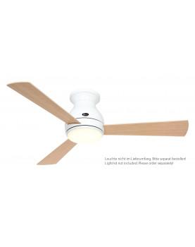 Ventilador de techo CasaFan 311674 Eco Pallas 116cm arce o haya/ blanco con luz por separado