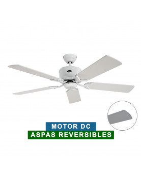 Ventilador de techo CasaFan 513281 ECO ELEMENTS 132 blanco o gris claro/blanco