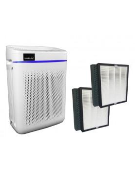 Purificador de aire automático Comedes Lavaero 150 Eco con 2 filtros de recambio