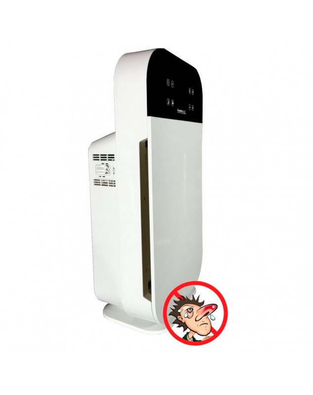 purificador de aire pensado para alergias comedes lavaero 280 con lámpara UVC y hepa