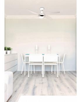 Ventilador de techo con luz Sulion 075663 BELAIR blanco/blanco