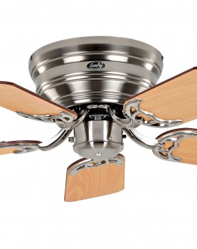 Ventilador para techos bajos 5075051 classic flat 75 aspas reversibles