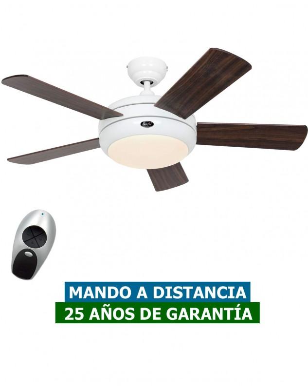 Ventilador de techo con luz CasaFan 9510564 TITANIUM 105cm