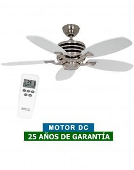 abanico de techo 9510350  ECO GAMMA 103 Casfan blanco o gris claro