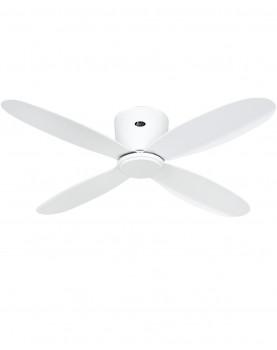 ventilador para el tech con aspas blanco casafan eco plano II