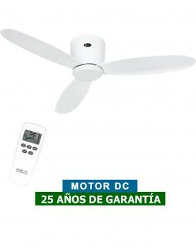 ventilador casafan para techos bajos ECO PLANO II blanco