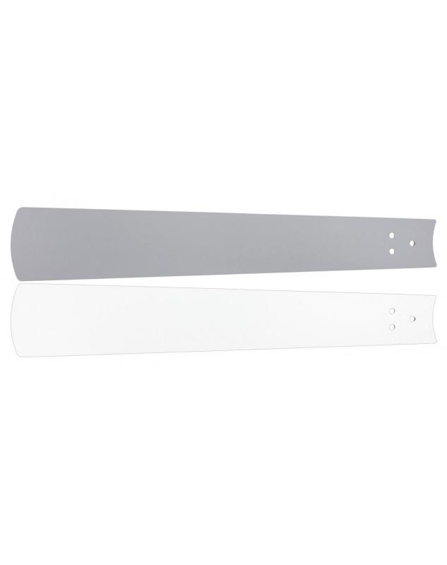 Aspas reversibles para ventildor de techo Casafan Eco Neo II blanco gris.