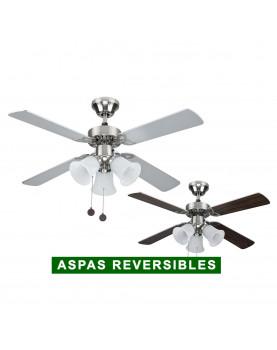 Ventilador para techo con luz Sulion 075439 Hornet
