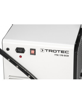 Deshumidificador móvil profesional Trotec TTK 170 ECO con contador de horas