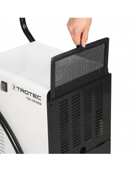 Deshumidificador móvil profesional Trotec TTK 170 ECO filtro lavable