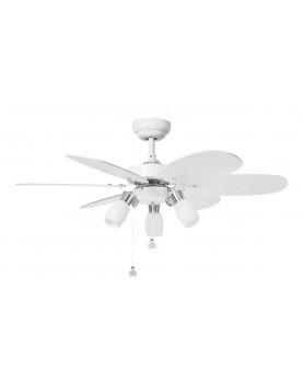 Ventilador de techo con luz Sulion 072645 Tones blanco