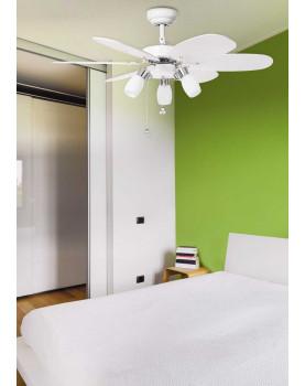Ventilador de techo con luz Sulion 072645 Tones con cadena