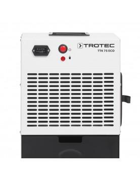 Deshumidificador móvil profesional Trotec TTK 75 ECO panel de acionamiento