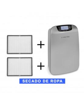 Deshumidificador móvil Trotec TTK 110 HEPA y purificador más 2 filtros de recambio