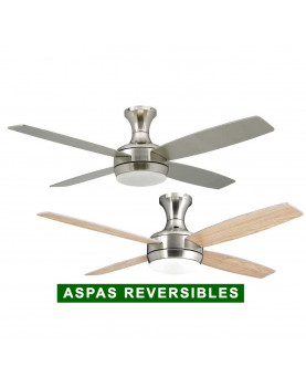 Ventilador de techo con luz AireRyder FN72238 Saturn aspas reversibles