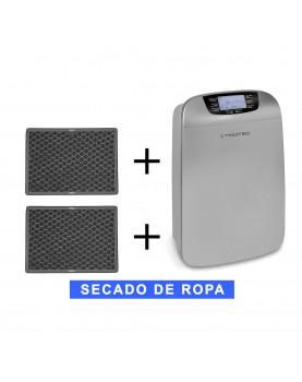 Deshumidificador móvil Trotec TTK 110 HEPA y purificador más 2 fltros de carbón activo