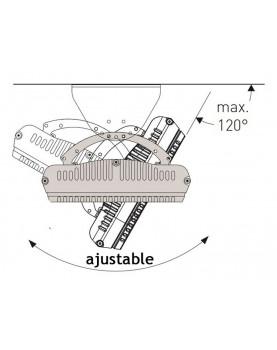 Calentador radiante casafan 9818 HOTTOP 1800 W posición de instalación