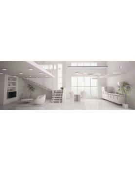Ambiente calentador radiante casafan 9824 HOTTOP 2400 W posición de instalación