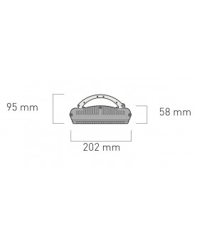 Esquema calefactor radiante casafan 982419 HOTTOP 2400 W