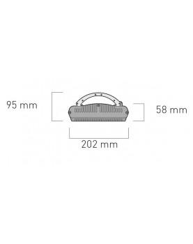 Esquema de instalación del calentador halógeno 98154 HOTTOP/D 1500 W