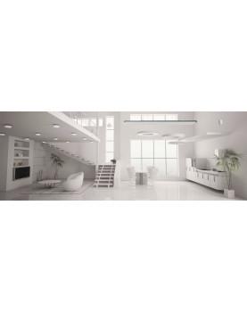 Ambiente calentador radiante casafan 98324 HOTTOP 2400 W posición de instalación
