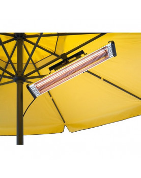 Soporte  SSK1 CasaFan CasaTherm pinza abrazadera para S1800 en sombrilla