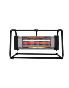 Calefactor halógeno por infrarrojo CasaFan 70033 CASATHERM B2000-II Gold LowGlare con soporte de aluminio
