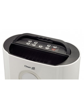 Deshumidificador y purificador Clean Air Optima CA-704 panel digital.