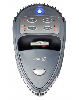 Purificador de aire con ionizador Clean Air Optima CA-401 control panel
