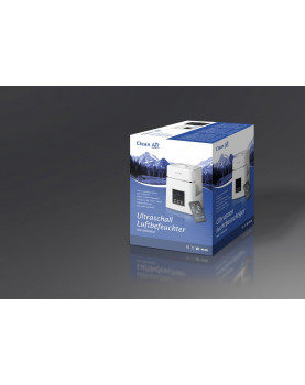 Humidificador de aire con ionizador Clean Air Optima CA-604 depósito de agua de 6 litros