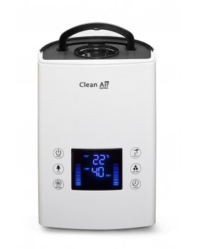 Humidificador de aire con ionizador Clean Air Optima CA-606 manija transportadora