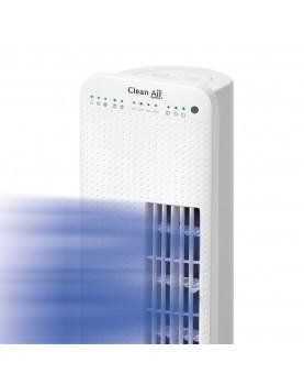 Ventilador para pie con ionizador Clean Air Optima CA-405 flujo de aire frontal