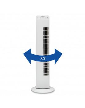 Ventilador para pie con ionizador Clean Air Optima CA-405 angulo de rotacion de 80 º
