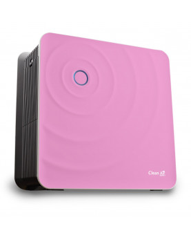 Humidificador de aire y purificador de aire Clean Air Optima CA-803 gran diseño y elegancia en color rosa