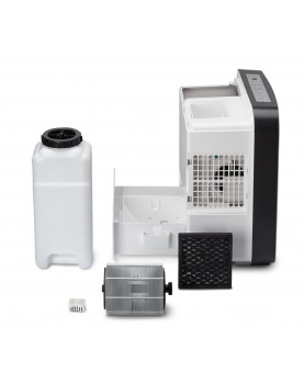 Humidificador de aire y purificador de aire Clean Air Optima CA-807 set completo