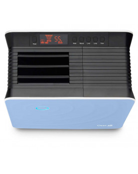 Humidificador de aire y purificador de aire Clean Air Optima CA-803 ultrasónico azul