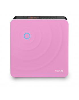 Humidificador de aire y purificador de aire Clean Air Optima CA-803 frente rosa