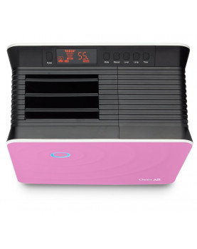 Humidificador de aire y purificador de aire Clean Air Optima CA-803 ultrasónico rosa