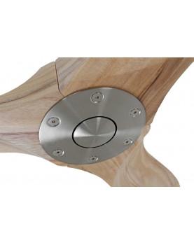 Ventilador de techo CasaFan 312215 Eco Genuino madera maciza color natural super silencioso