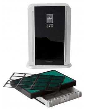 Purificador de aire con ionizador Comedes LR700 con filtro HEPA para 50 metros cuadrados