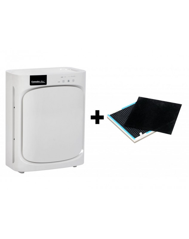 Purificador de aire con ionizador y filtro HEPA Comedes Lavaero 150 más filtro de repuesto