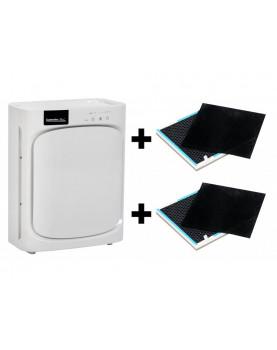 Purificador de aire con ionizador y filtro HEPA Comedes Lavaero 150 más dos filtros de repuesto