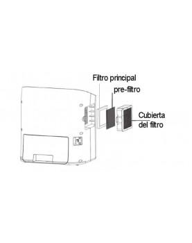 Humidificador de aire Comedes hildegard LW 360 sistema de purificacion por filtros
