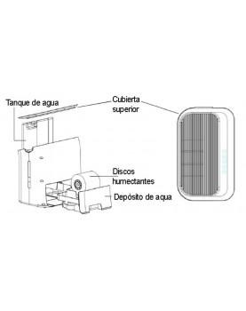 Humidificador de aire Comedes hildegard LW 360 sistema de agua
