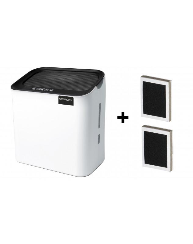 Humidificador de aire Comedes hildegard LW 360 con dos filtros de recambio.