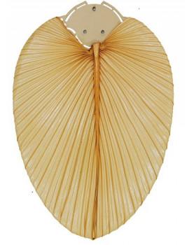 Set de aspas de hoja natural de palmera con diametro de 132 cm