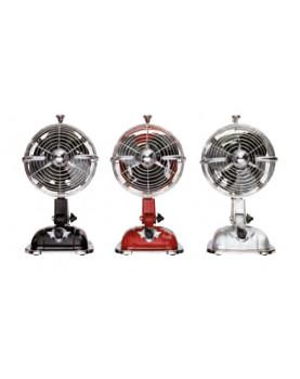 Ventilador para mesa CasaFan RetroJet plateado cromado