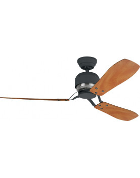 Ventilador de techo Hunter Industrie II color castaño