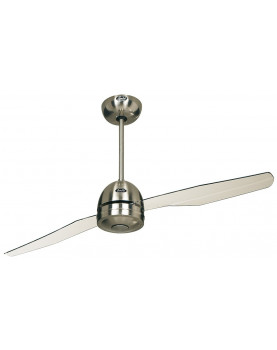 Ventilador de techo con aspas transparentes CasaFan Libelle 2, 3 ó 4 aspas