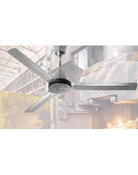 Ventilador de techo de acero inoxidable Vortice Nordik Heavy Duty Inox 61024